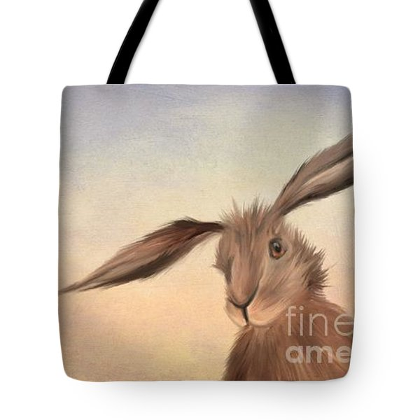 March Hare Tote Bag by John Edwards