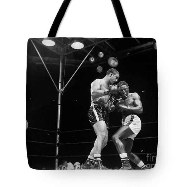 Marciano & Charles, 1954 Tote Bag by Granger