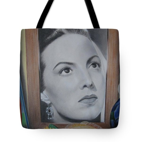 Maria Bonita Tote Bag by Lynet McDonald