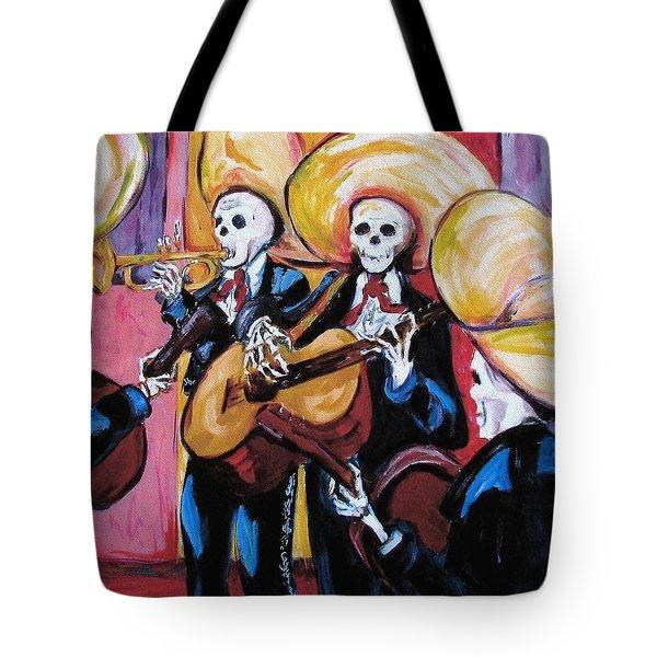Mariachi IIi Tote Bag by Sharon Sieben