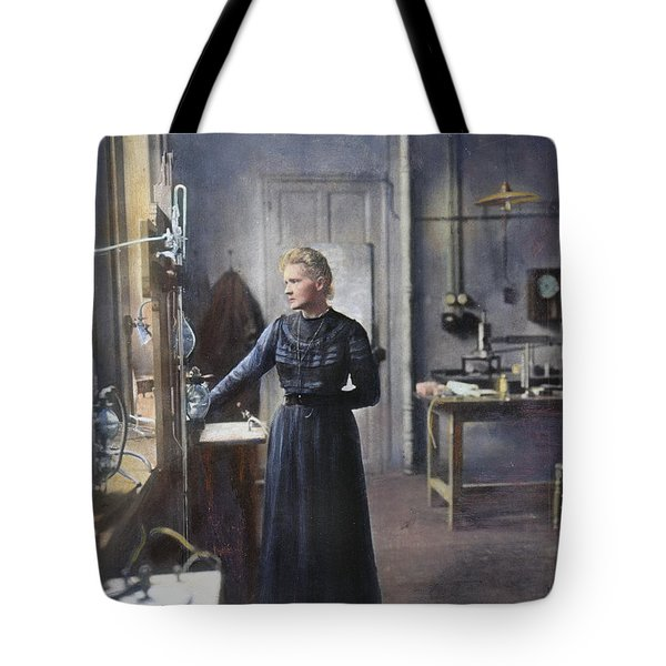 Marie Curie (1867-1934) Tote Bag by Granger