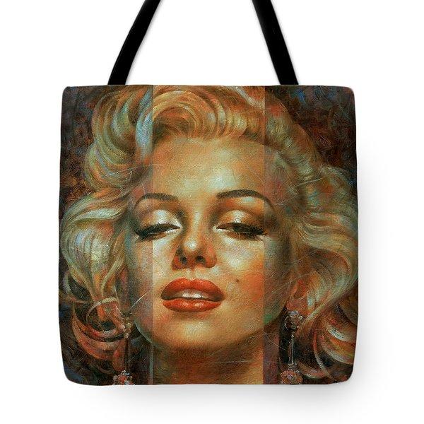 Marilyn Monroe Tote Bag by Arthur Braginsky