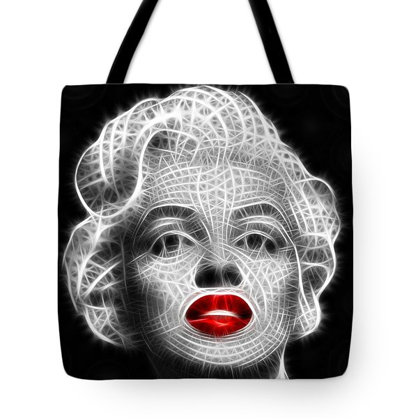 Marilyn Monroe Tote Bag by Pamela Johnson
