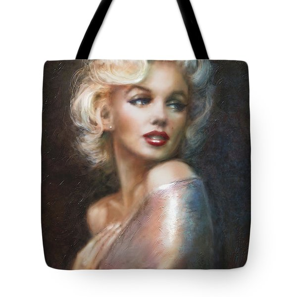 Marilyn Ww Soft Tote Bag by Theo Danella