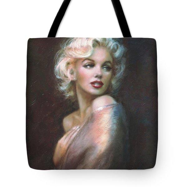 Marilyn Ww  Tote Bag by Theo Danella