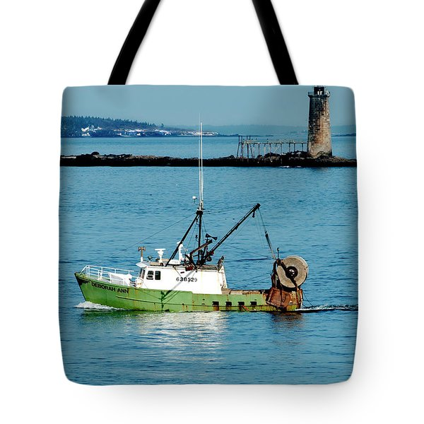 Maritime Tote Bag by Greg Fortier