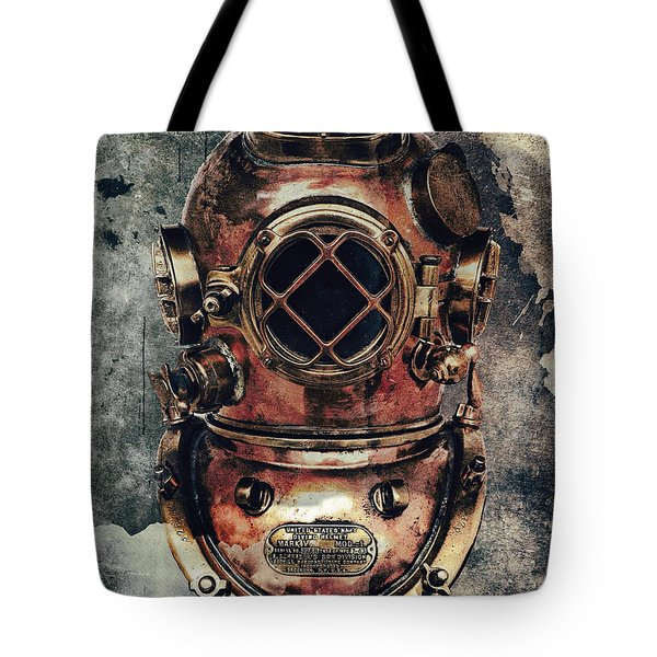Mark V Navy Deep Diving Helmet 1943 Digital Art By