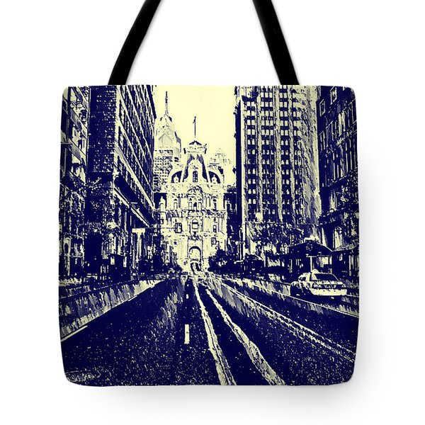 Market Street  Tote Bag by Bill Cannon