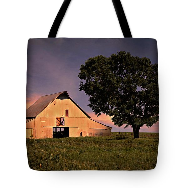 Marshall's Farm Tote Bag by Lana Trussell