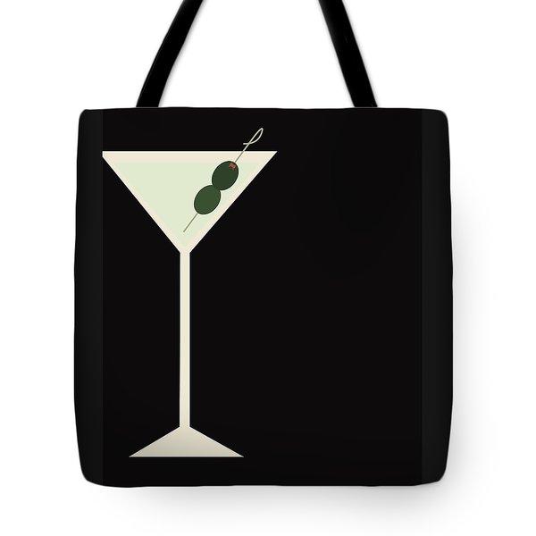 Martini Tote Bag by Julia Garcia