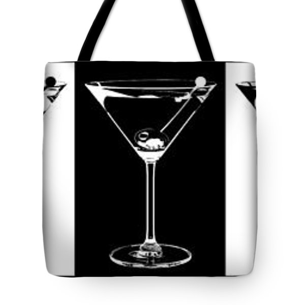 Martini Party Tote Bag by Jon Neidert