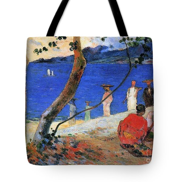 Martinique Island Tote Bag by Paul Gauguin