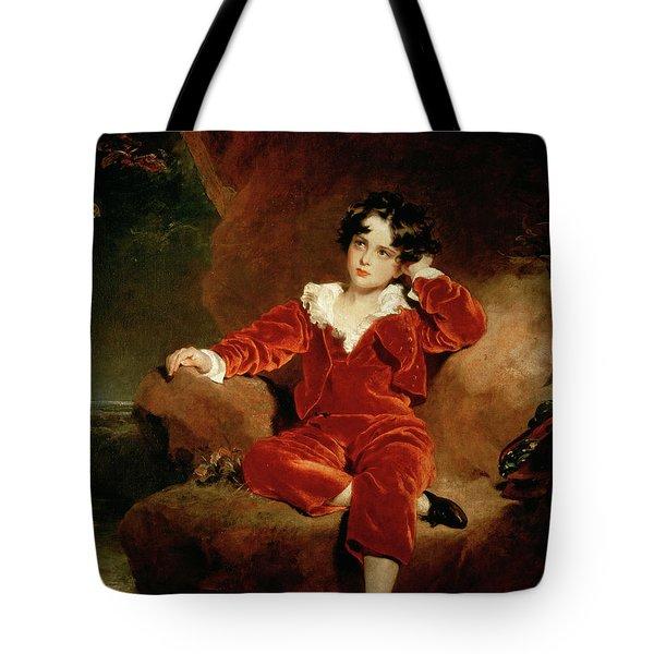 Master Charles William Lambton Tote Bag by Sir Thomas Lawrence
