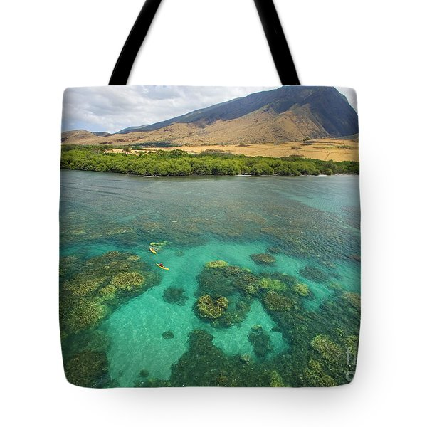 Maui Landscape Tote Bag by Ron Dahlquist - Printscapes