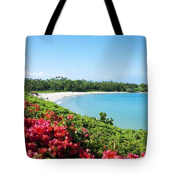 Mauna Kea Beach Tote Bag by Ron Dahlquist - Printscapes