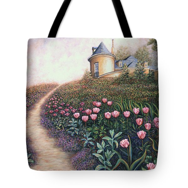 May Flowers Two Tote Bag by Linda Mears