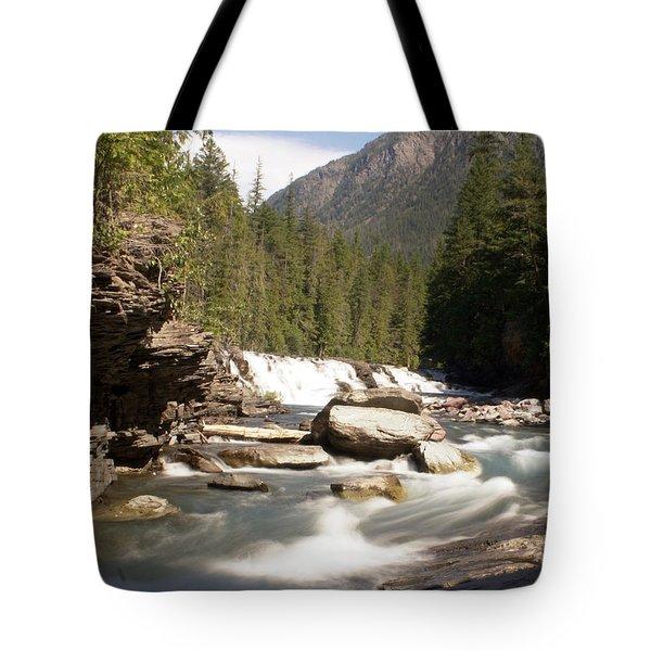 Mcdonald Creek 2 Tote Bag by Marty Koch