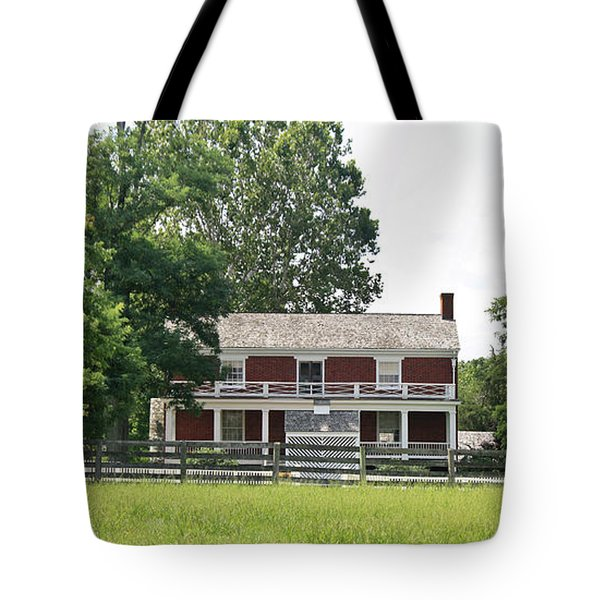 McLean House Appomattox Court House Virginia Tote Bag by Teresa Mucha