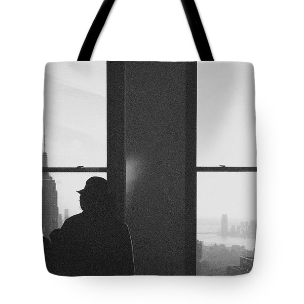 Me And Nyc Tote Bag by J Montrice