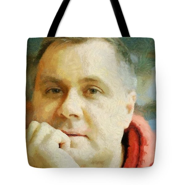 Me Tote Bag by Jeff Kolker