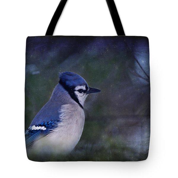 Me Minus You - Blue Tote Bag by Evelina Kremsdorf
