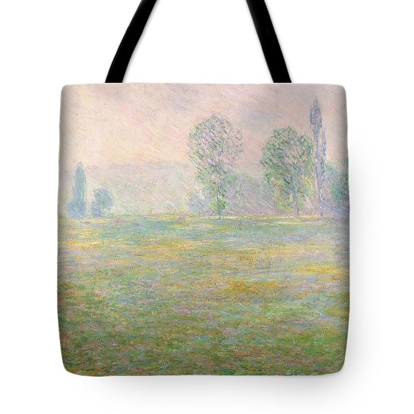 Meadows In Giverny Tote Bag by Claude Monet