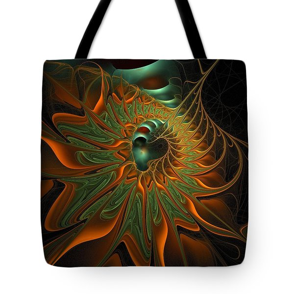 Meandering Tote Bag by Amanda Moore