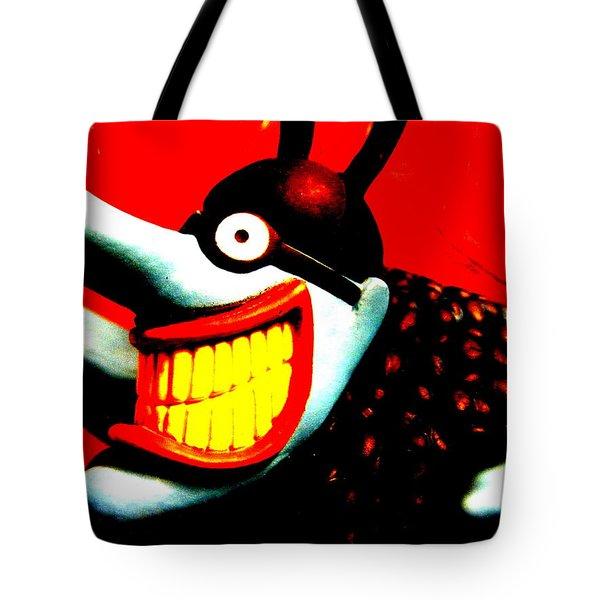 Meanie Tote Bag by Ed Smith