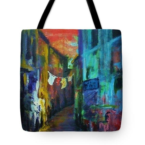 Mediterranean Dusk Tote Bag by Margaret  Plumb