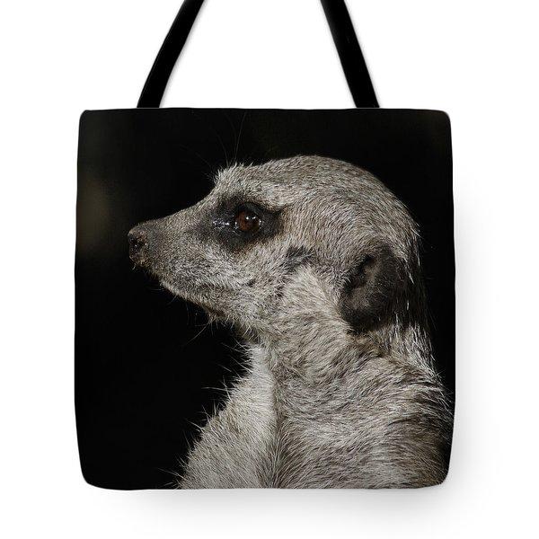 Meerkat Profile Tote Bag by Ernie Echols