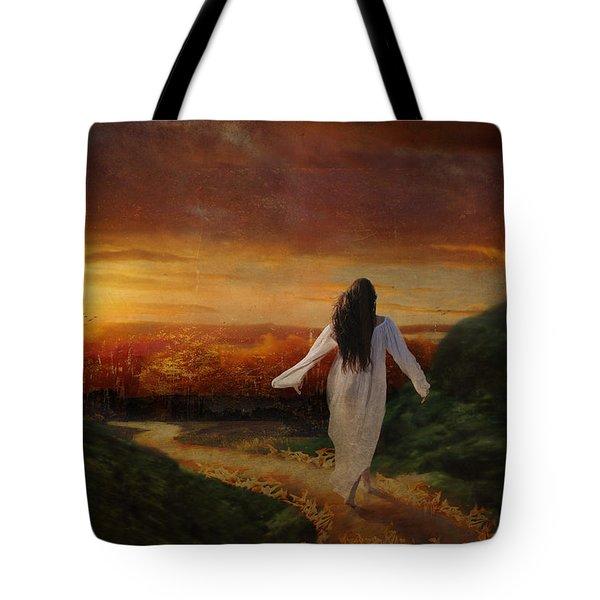 Melt Tote Bag by Lianne Schneider