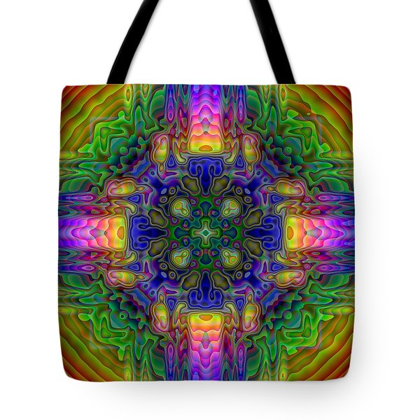 Melted Tote Bag by Lyle Hatch