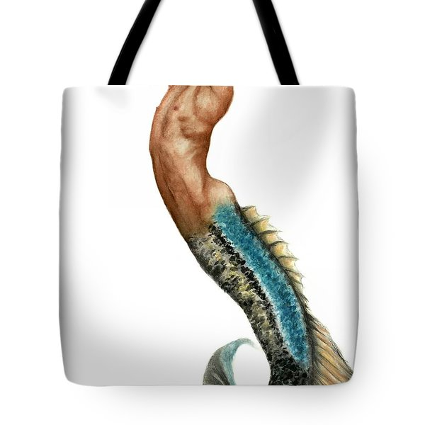 Merman Tote Bag by Bruce Lennon