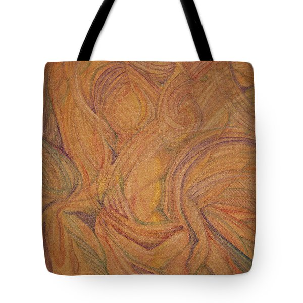Meta Tote Bag by Caroline Czelatko