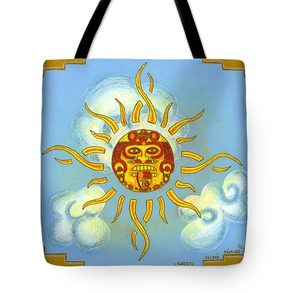 Mi Sol Tote Bag by Roberto Valdes Sanchez