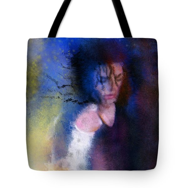 Michael Jackson 16 Tote Bag by Miki De Goodaboom