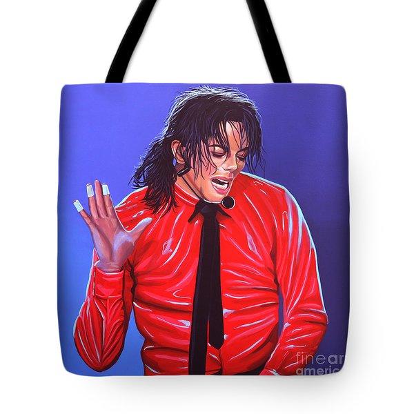Michael Jackson 2 Tote Bag by Paul Meijering