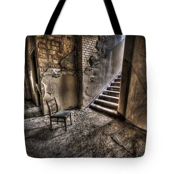 Middle floor seating Tote Bag by Nathan Wright