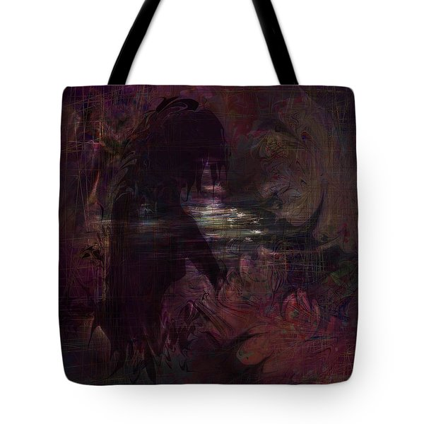 Midnight Dream Tote Bag by Rachel Christine Nowicki