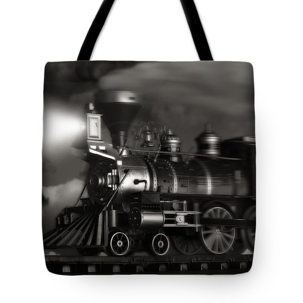 Midnight Flyer Tote Bag by Tom Mc Nemar