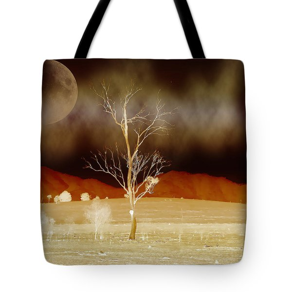 Midnight Vogue Tote Bag by Holly Kempe
