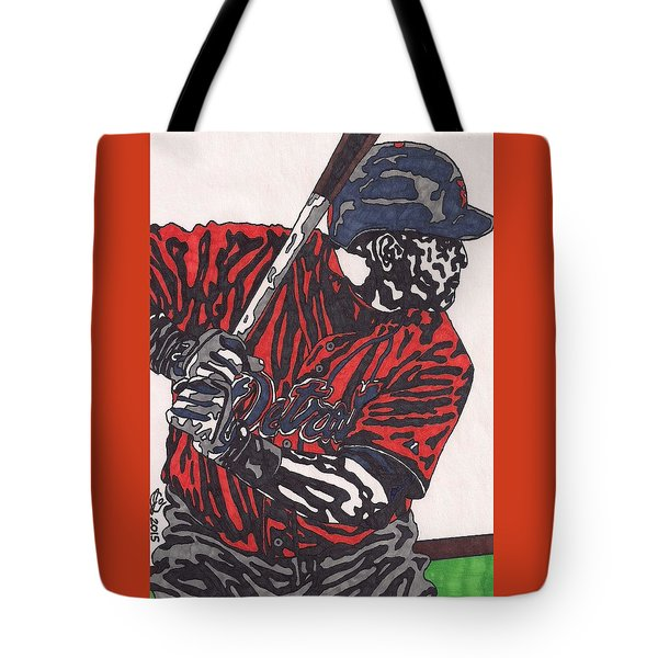 Miguel Caberera 1 Tote Bag by Jeremiah Colley