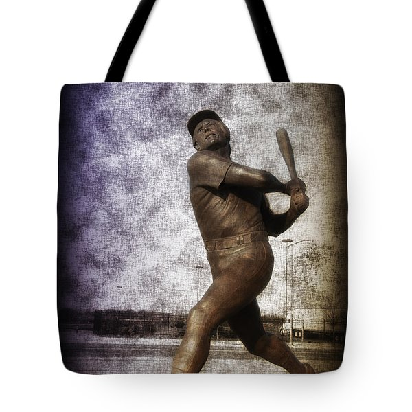 Mike Schmidt - Philadelphia Phillie Tote Bag by Bill Cannon
