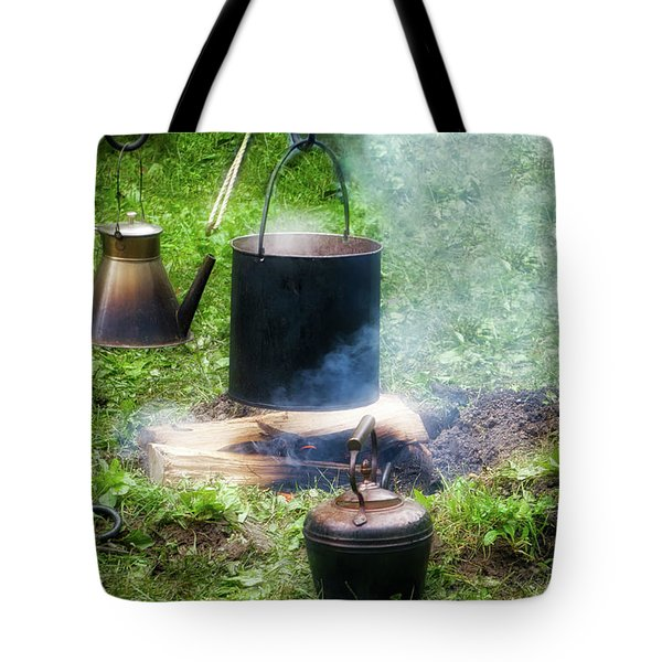 Wood burning mixed media tote bags for sale