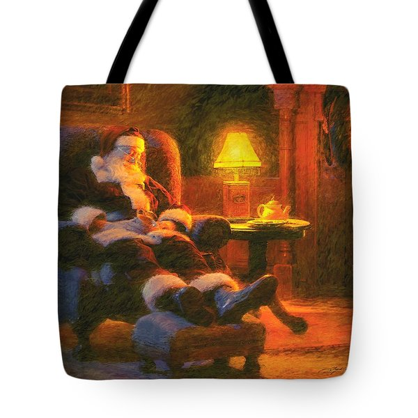 Milk And Cookiezzzzz Tote Bag by Greg Olsen