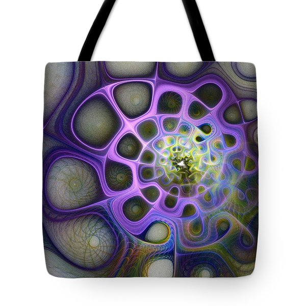 Mindscapes Tote Bag by Amanda Moore