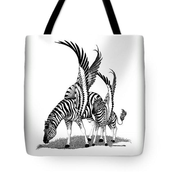 Mirage  Detail Tote Bag by Caroline Czelatko