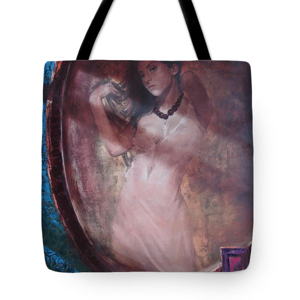 Mirror For The Sun Tote Bag by Sergey Ignatenko