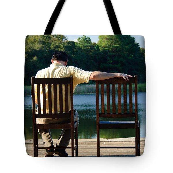 Missing Her Tote Bag by Charles Dobbs