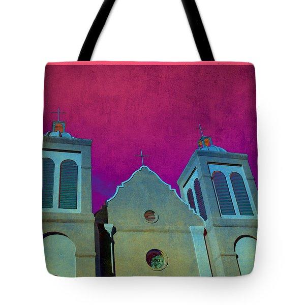 Mission New Mexico Var.2 Tote Bag by Susanne Van Hulst
